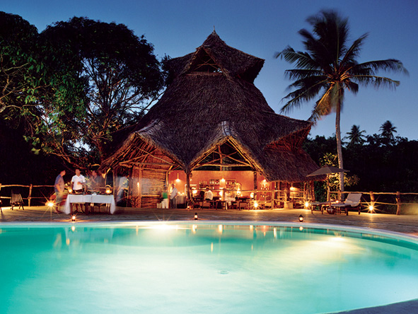 Poolside Bar, Fundu Lagoon