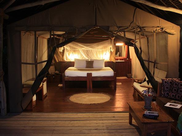Luxurious suites, Fundu Lagoon