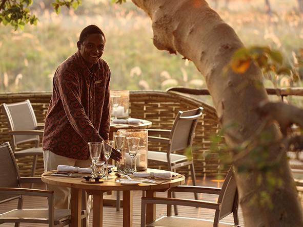 Sandibe Okavango Safari Lodge, personal service