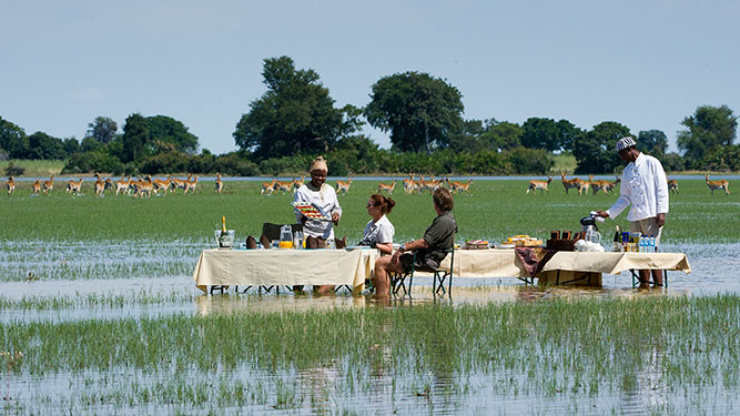 Going Private in Botswana - Jao Camp