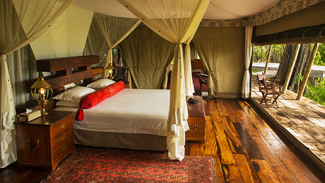 Going Private in Botswana - Zarafa Camp