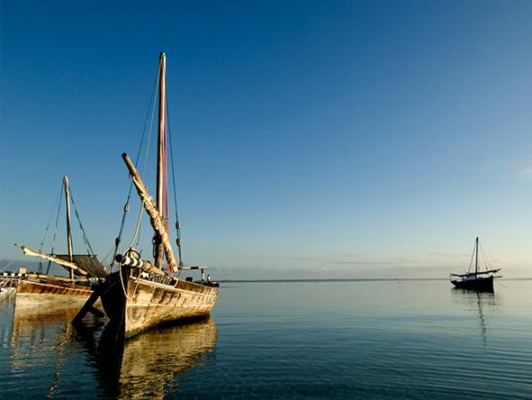 Dhows, Mafia Island