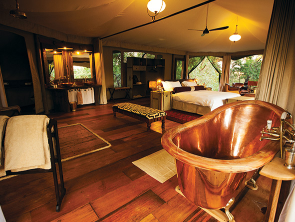 kenya luxury safari, mara plains camp