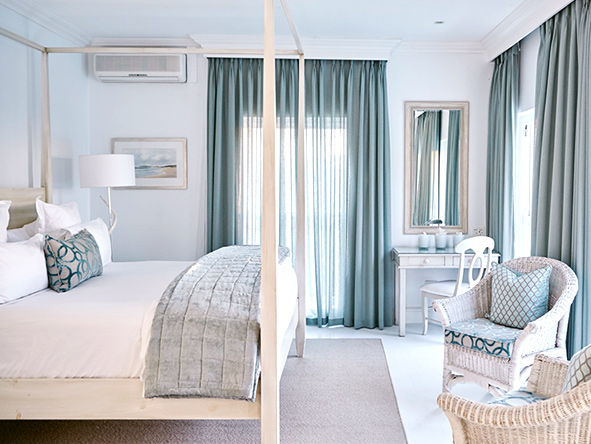Beachy interiors, the plettenberg