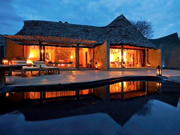 Ol Donyo luxury lodge, Kenya