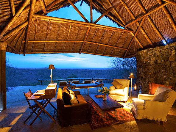 Ol Donyo lodge, Amboseli National Park