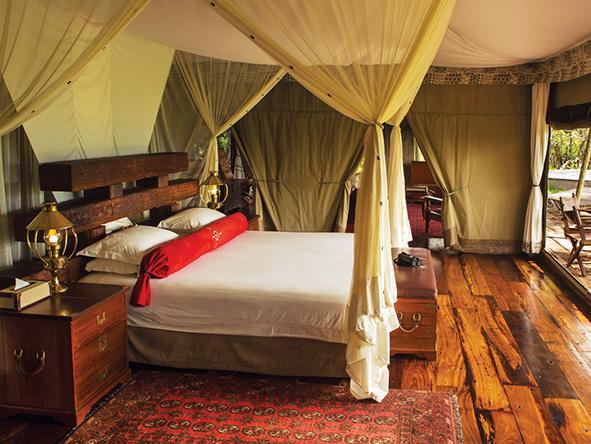 Zarafa Camp, bedroom suite