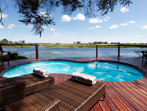 Kwando Lagoon Camp, swimming pool