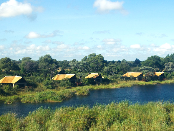 Kwando Lagoon, tented lodges