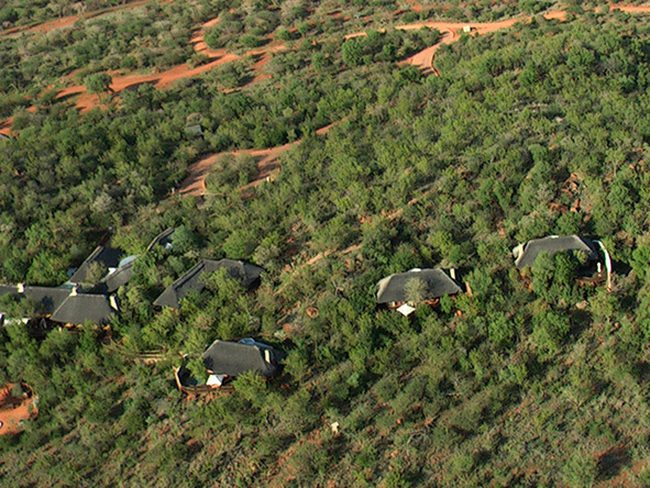 private suites, Etali, Safari Lodge