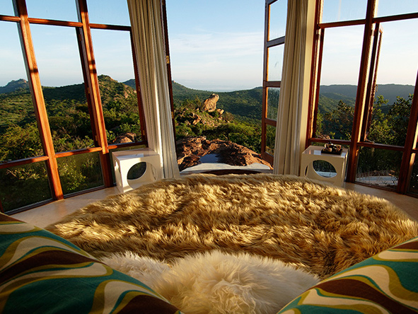 Romantic honeymoon accommodation, kenya