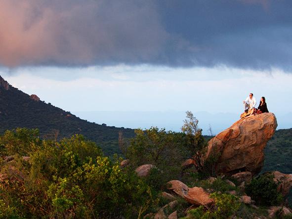Safari picnic, Kenya