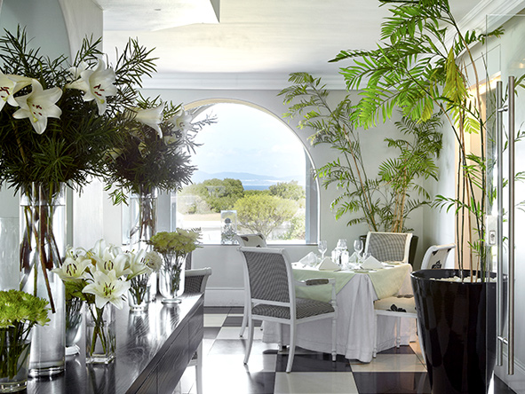 The Marine Hermanus, dining room