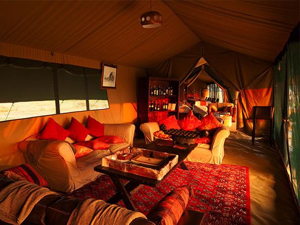 Lemala tented suite, Tanzania