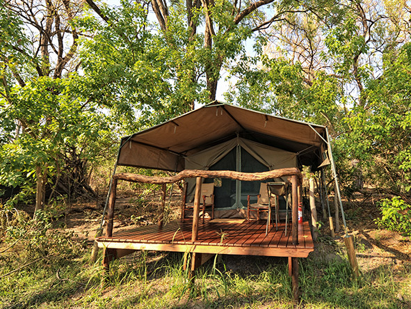 Kwai Tented Camp, private deck