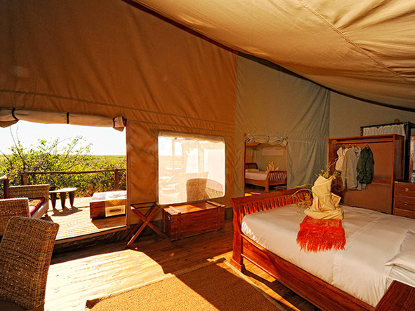 Linyanti Ebony, luxury camp