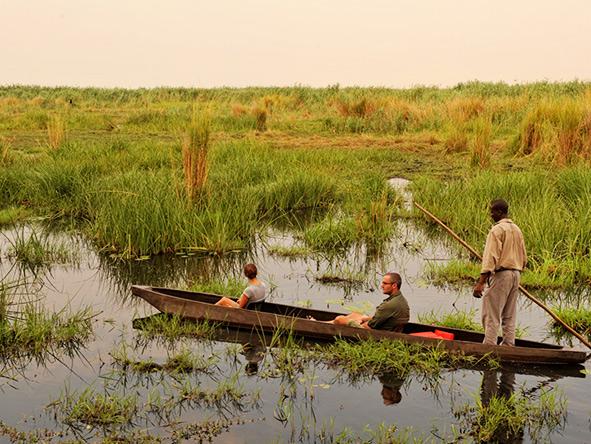 Mokoro, Botswana water Safari