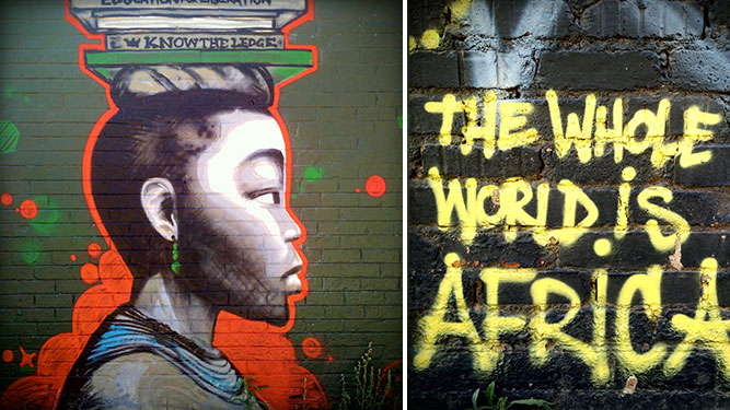 Joburg Street Art - graffiti