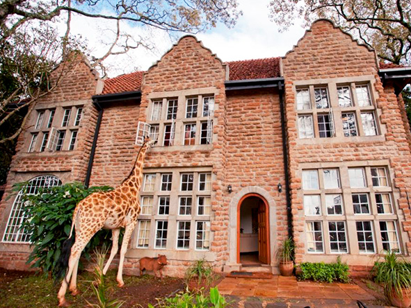 The Giraffe Manor, Kenya