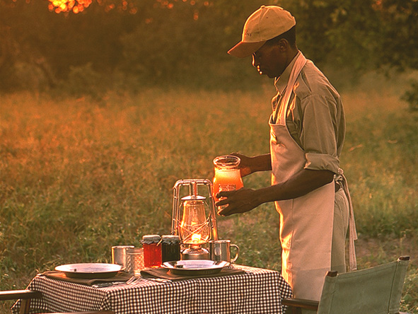 private staff, Botswana Safari