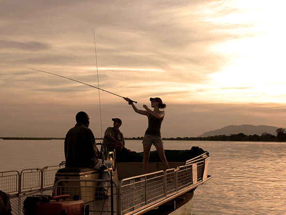Fly-fishing, Zambezi River