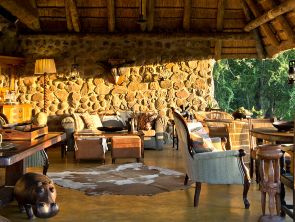 Motswari Geiger's Camp, African decor