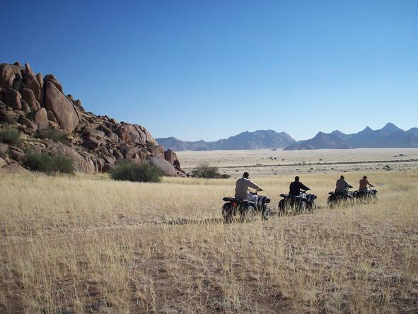quad bike, Namibia