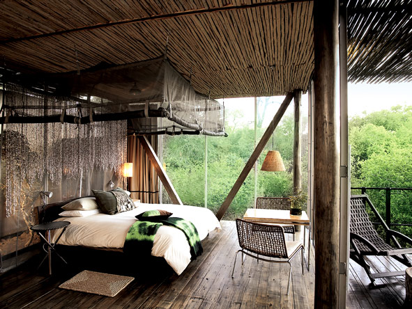 Singita Sweni, bedroom suite