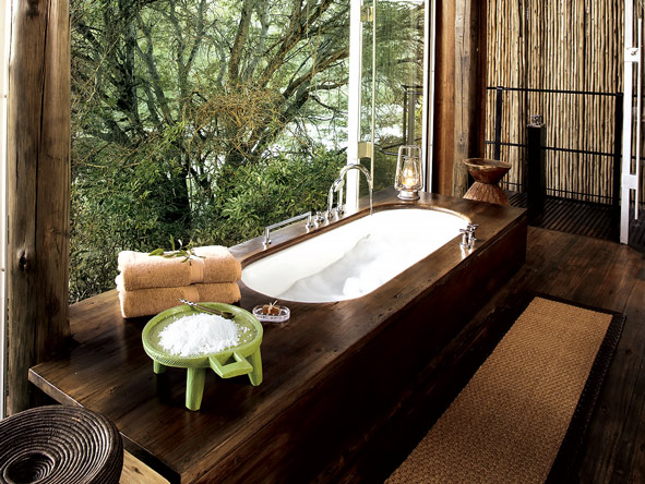 Singita Sweni, Bathtub