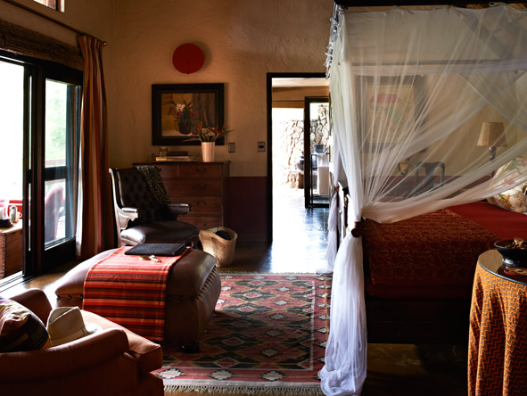 Singita Ebony Lodge, bedroom suites
