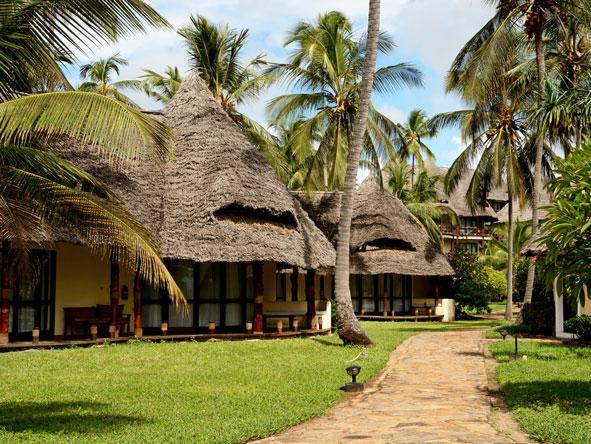 Ocean Paradise Resort, gardens