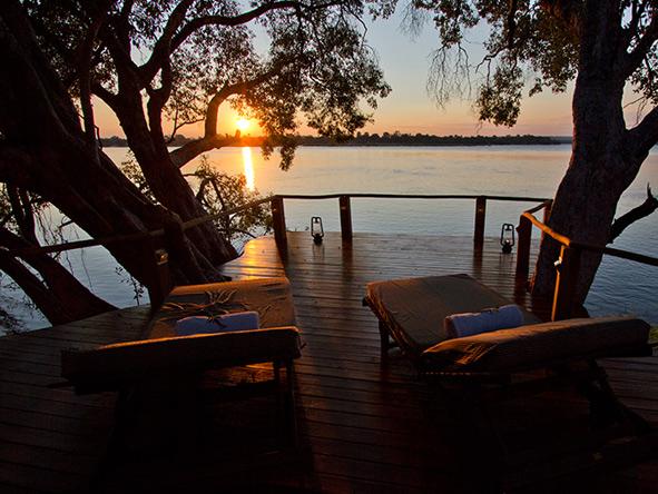 Tongabezi Lodge, Zambezi river