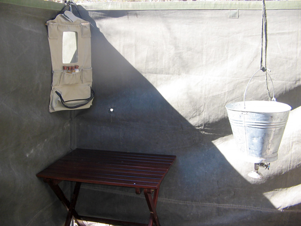 Mobile camping, bathroom