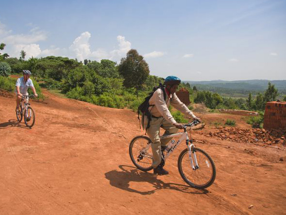 Gibbs Farm in the Ngorongoro Karatu regions offers guided bike rides through the region.Gibbs Farm in the Ngorongoro Karatu region offers guided bike rides through the surrounding area.