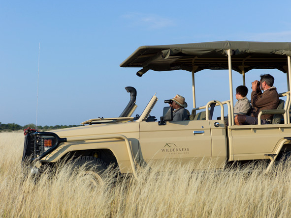 Experience Africa's parks and reserves at your own pace by hiring a private vehicle and your own experienced guide.
