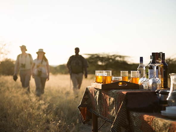 Drinks on Safari, Olivers Camp