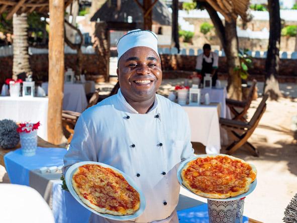 Zanzibari chef