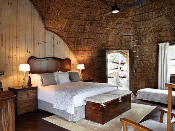 Shambala Zulu Camp, luxury Suite