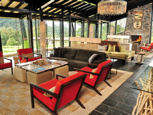 Nyungwe Forest Lodge, modern interiors