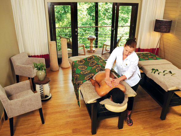 Pampering Massage at Nyungwe Lodge