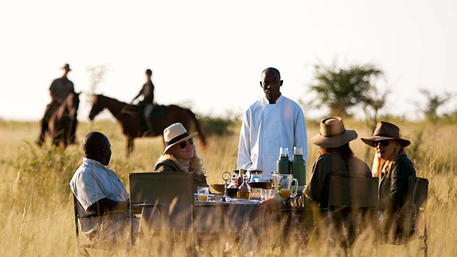 Why We Love Conservancies - picnic meal