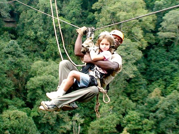 Ziplining in KwaZulu Natal