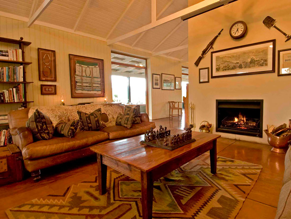 Lounge at Three Tree Hill Lodge