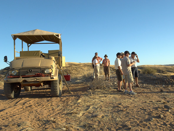 Safari, Game drives