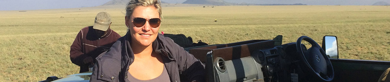 Africa Safari Expert - Ashley Gerrand