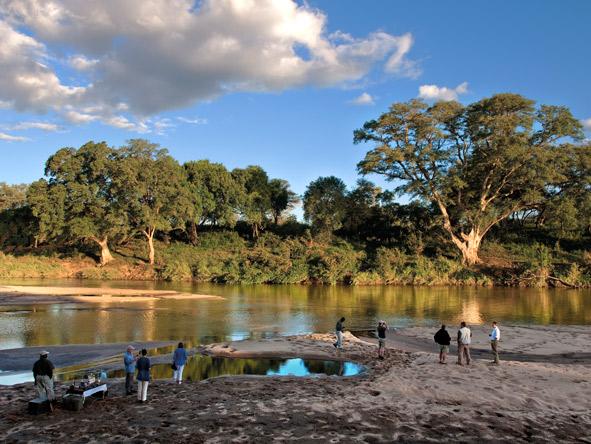 Sand River, Kruger National Park