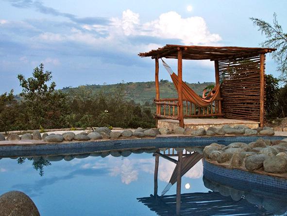 Swimming Pool at Kyambura Gorge Lodge