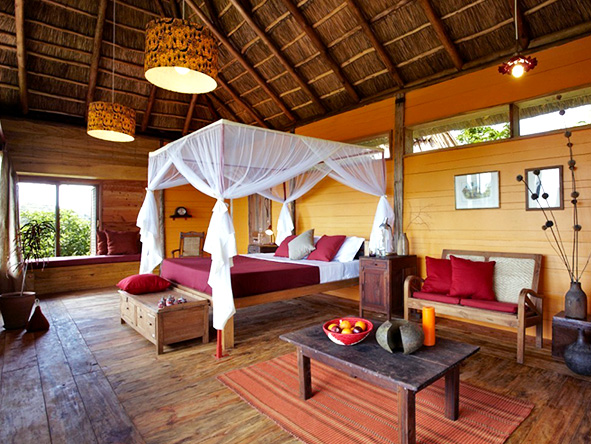 Bedroom Suite, Kyambura Game Lodge