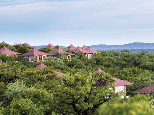 Etosha Safari Lodge, chalet