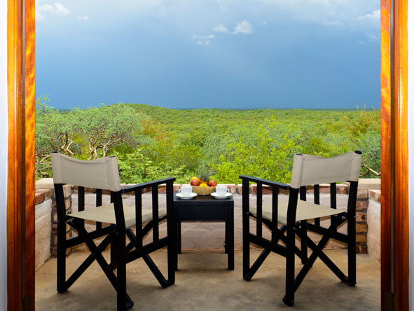 Private Patio, Etosha Safari Lodge